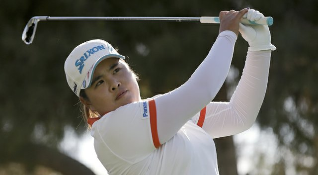 Inbee Park during the second round of the 2013 Kraft Nabisco Championship.