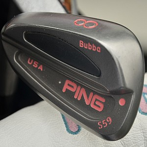 Bubba Watson plays Ping S59 irons with True Temper Dynamic Gold S100 shafts.