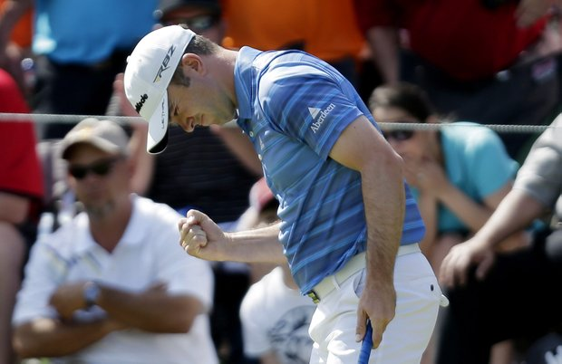 Martin Laird won the Valero Texas Open behind a final-round 63 that also earned him a seat on the charter plane to Augusta, Ga. for the Masters.