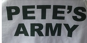 """Pete's Army"" is making the trip to Augusta National"