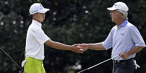 Masters 2013: Guan gets advice from old guard