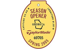 In this picture: 2005 logo