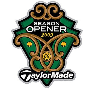 In this picture: 2009 logo