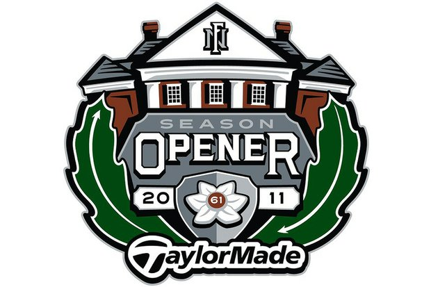 In this picture: 2011 logo