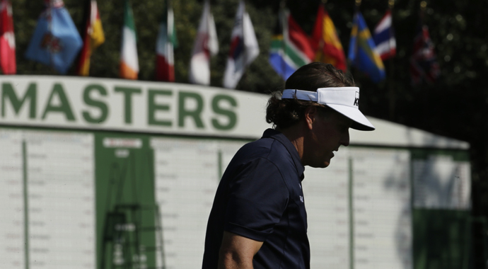 Phil Mickelson plays the Shell Houston Open, which is traditionally held the week before the Masters, but the Valero Texas Open was inserted between the two events this year.