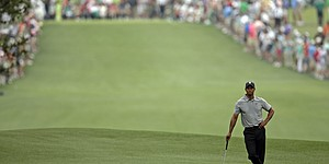 PHOTOS: Tiger Woods at Masters, 2013