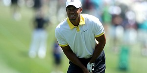 Woods finishes at 3 under after flagstick incident