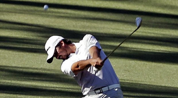 Jason Day during the third round of the 2013 Masters.