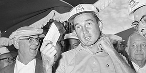 Finsterwald's 1960 penalty a precedent for Tiger?