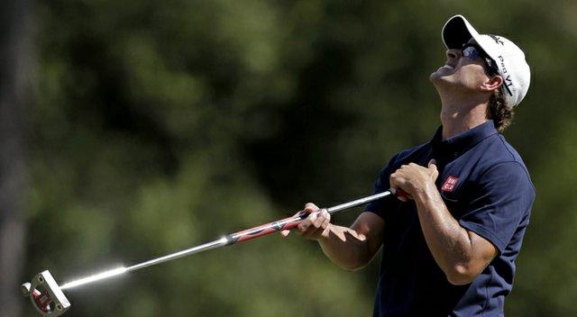 Adam Scott during the third round of the 2013 Masters.