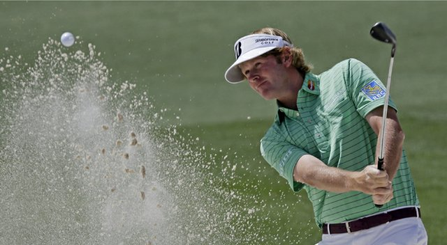 Brandt Snedeker during the third round of the 2013 Masters.