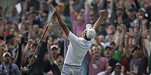 PHOTOS: Adam Scott at 2013 Masters
