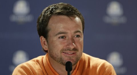 Graeme McDowell during the 2012 Ryder Cup.