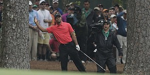 Tiger's edge on Augusta's back nine fades again