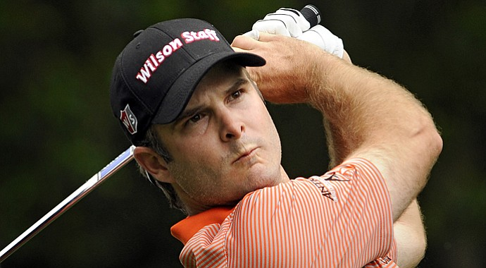 Kevin Streelman during the second round of the 2013 RBC Heritage.