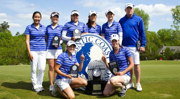 The Duke women defended their ACC Championship title.