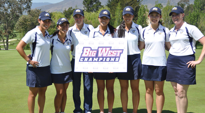UC Davis won a fourth consecutive Big West Title on April 23.