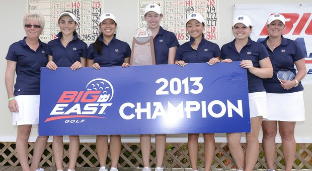Notre Dame won the Big East Championship at Reunion Resort's Watson Course in Orlando, Fla.