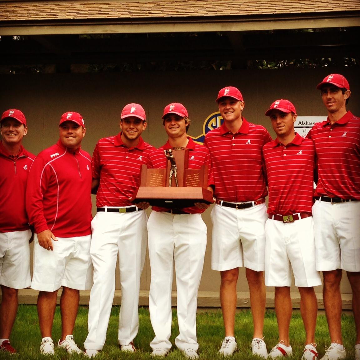 SEC Champions, the Alabama Crimson Tide
