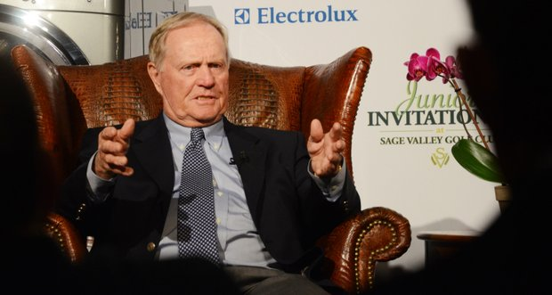Jack Nicklaus was the guest speaker on Opening Night at the Junior Invitational at Sage Valley.