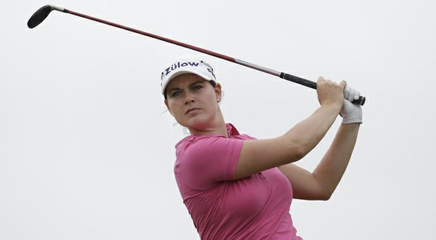 Caroline Masson during the second round of the 2013 North Texas LPGA Shootout.