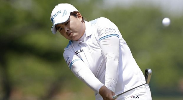 Inbee Park during the final round of her win at the 2013 North Texas LPGA Shootout.