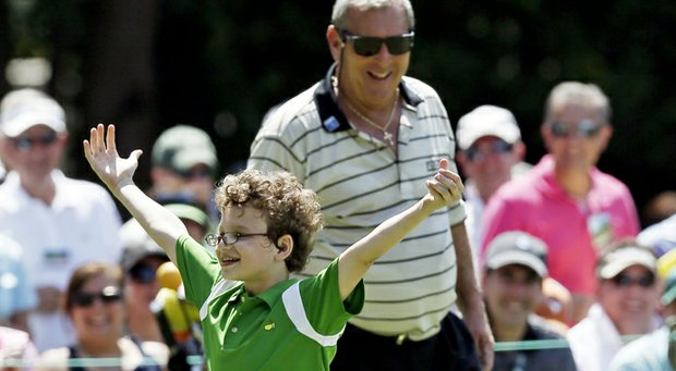 Know a junior golfer who should get to celebrate a putt at Augusta National, like Harrison Hickinbotham did in front of Fuzzy Zoeller at the 2012 Par-3 Contest? If so, register them in the Drive, Chip and Putt competition.