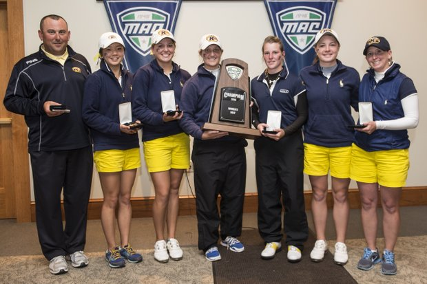 Kent State won its 15th Mid-American Conference title on April 28.