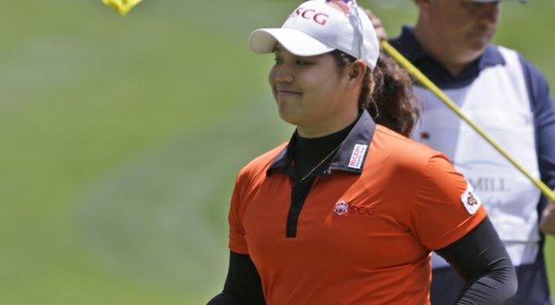 Ariya Jutanugarn during the first round of the LPGA's 2013 Kingsmill Classic.