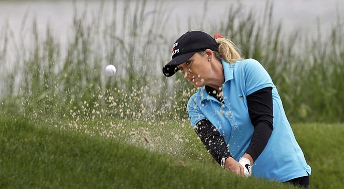 Cristie Kerr during the second round of the 2013 Kingsmill Championship.