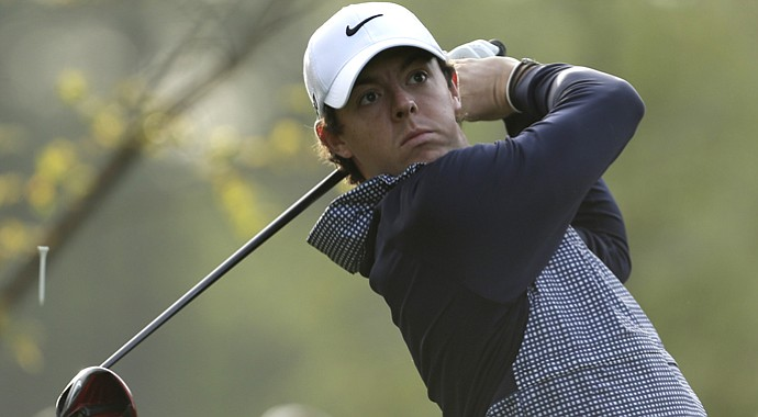 Rory McIlroy during his second-round 71 at the 2013 Wells Fargo Championship in Charlotte, N.C.
