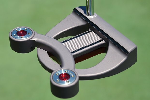Geoff Ogilvy had used heel-toe weighted blade putters for years, but last week at the Wells Fargo Championship he put this Scotty Cameron for Titleist Futura X prototype into his bag.