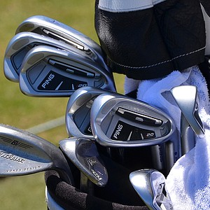 Richard Lee has had success using this set of Ping i20 irons.