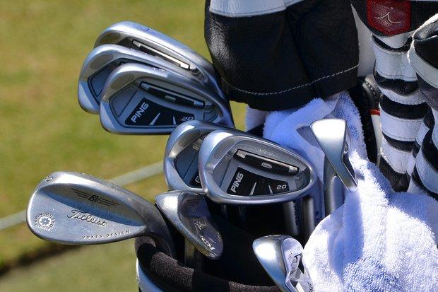 Richard Lee has had success using this set of Ping i20 irons.