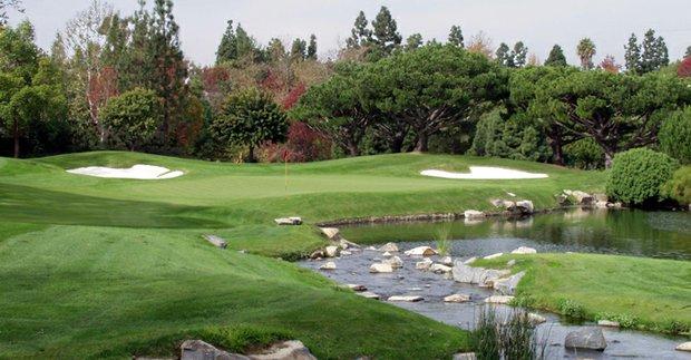 No. 18 at Big Canyon CC in Newport Beach, Calif.