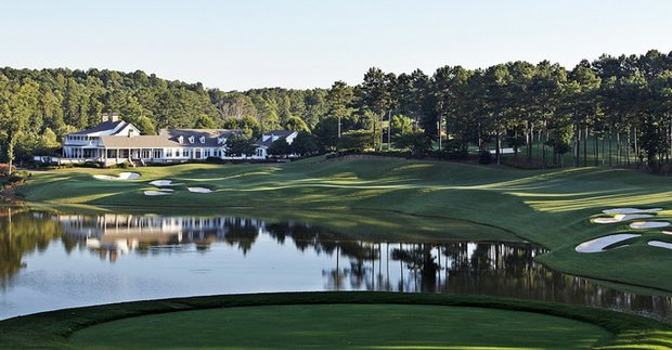 No. 18 at Hawks Ridge GC in Ball Ground, Ga.