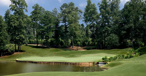 No. 15 at Hawks Ridge GC in Ball Ground, Ga.