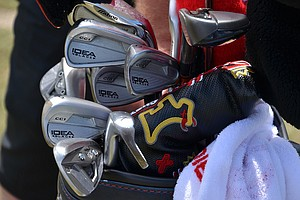 Chad Campbell plays a prototype set of Adams Idea Pro Black irons.