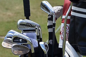 Keegan Bradley has removed his Cleveland CG7 Tour long irons and now carries a Cleveland 588 MT 2-, 3- and 4-iron.