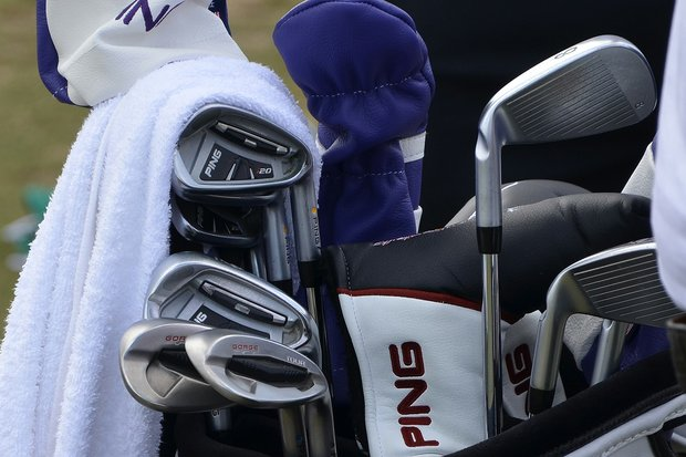 Lee Westwood is using Ping i20 irons and Ping Tour wedges at TPC Sawgrass.