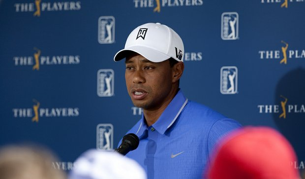Tiger Woods addressed the media on Tuesday of The Players Championship at TPC Sawgrass.