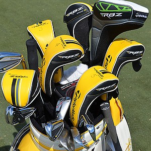 With a bag full of hybrids, Y.E. Yang's longest TaylorMade RocketBladez iron is his 6-iron.