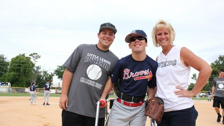 Baseball dreams come true for special kids