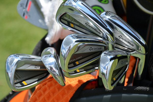 John Huh switched to TaylorMade before the start of the 2013 season and is playing the company's RocketBladez Tour irons.