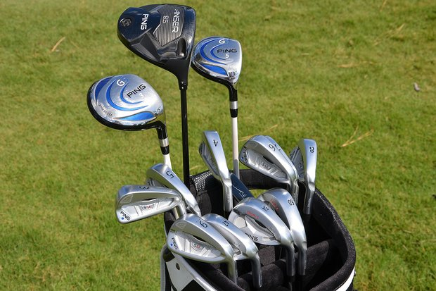 Louis Oosthuzien used some Ping i20 long irons earlier this spring, but the 2010 British Open champion now has a full set of Ping S56 irons in his bag. The South African also is playing a Ping Anser driver and a pair of Ping G5 fairway woods.