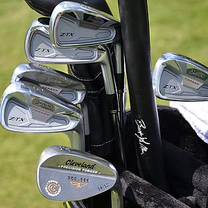 John Rollins is using these Srixon Z-TX irons this week at the Players.