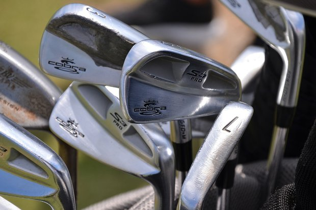 Sweden's Jonas Blixt has added some weight to some of his Cobra S3 Pro irons.
