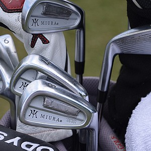 K.J. Choi, who won the Players in 2011, has also added weight to some of his Miura Forged CB-501 irons.