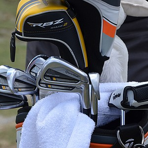 Retief Goosen is competing at the Players with a set of TaylorMade RocketBladez Tour irons.