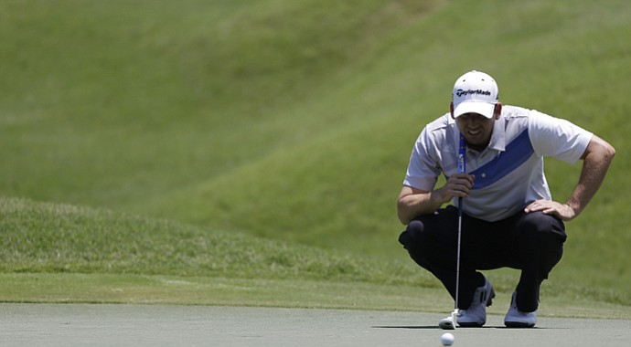 Sergio Garcia during the second round of the 2013 Players Championship at TPC Sawgrass in Ponte Vedra Beach, Fla.
